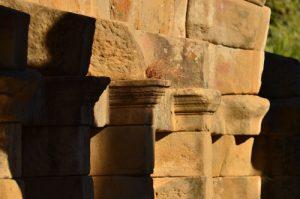 La Basilique romaine<br> Le site archéologique de Tyndaris<br> Île de La Sicile
