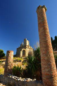 Les Thermes<br> Le site archéologique de Tyndaris<br> Île de La Sicile