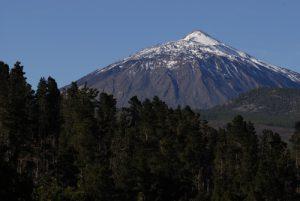 """Le Teide depuis le point de vue """"Maragitas de piedra"""""""