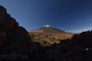 Le Teide &amp; Roque del Peral sur le sentier de La Fortaleza<br> Parc national du Teide<br> Île de Tenerife (Islas Canarias)