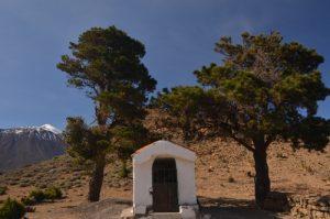 Cruz de Fregel sur le sentier de La Fortaleza<br> Parc national du Teide<br> Île de Tenerife (Islas Canarias)
