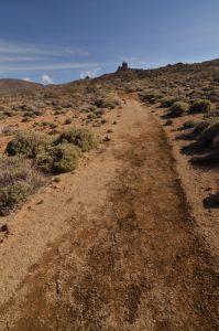 Roque del Peral depuis le sentier de La Fortaleza<br> Parc national du Teide<br> Île de Tenerife (Islas Canarias)