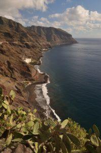 La côte entre de San Andres &amp; Iguestre de San Andres<br> Parc Macizo de Anaga<br> Île de Tenerife (Islas Canarias)