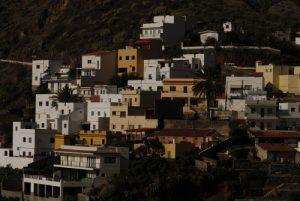 Igueste de San Andrés depuis le sentier du Sémaphore<br> Parc Macizo de Anaga<br> Île de Tenerife (Islas Canarias)