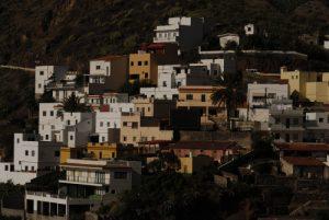 Igueste de San Andrés depuis le sentier du Sémaphore<br> Parc Macizo de Anaga<br> Île de Tenerife