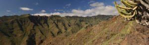 Sentier du Sémaphore à Igueste de San Andres<br> Parc Macizo de Anaga<br> Île de Tenerife (Islas Canarias)