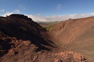 Cratère du volcan la Montana Samara<br> Parc national du Teide<br> Île de Tenerife (Islas Canarias)