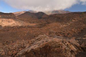 "Les ""narines"", Volcan Teide &amp; Pico viejo depuis le sentier de las Montanas Samara &amp; Revendata<br> Parc national du Teide<br> Île de Tenerife (Islas Canarias)"
