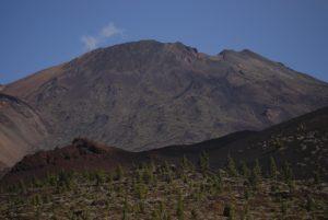 Volcan Pico viejo depuis le sentier de las Montanas Samara &amp; Reventada<br> Parc national du Teide<br> Île de Tenerife (Islas Canarias)
