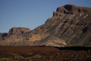 Montana Guajara depuis Los roques de Garcia<br> Parc national du Teide<br> Île de Tenerife (Islas Canarias)