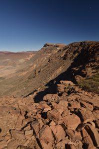 Point de vue sur Las Canadas depuis le Sombrero de Chasna<br> Parc national du Teide<br> Île de Tenerife (Islas Canarias)