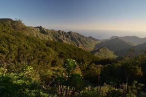 Le Massif de l'Anaga<br> Parc Macizo de Anaga<br> Île de Tenerife (Islas Canarias)