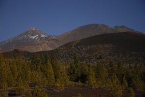 Volcan Teide (3718m) &amp; Pico Viejo sur le sentier de las Montanas Samara &amp; Reventada<br> Parc national du Teide<br> Île de Tenerife (Islas Canarias)
