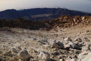 Intérieur du Cratère du volcan Teide (3718m)<br> Parc national du Teide<br> Île de Tenerife (Islas Canarias)