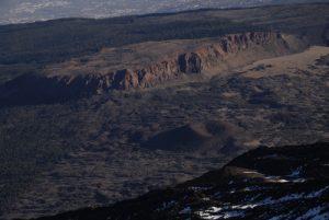 La Fortaleza depuis le point de vue du sommet du Teide<br> Parc national du Teide<br> Île de Tenerife (Islas Canarias)