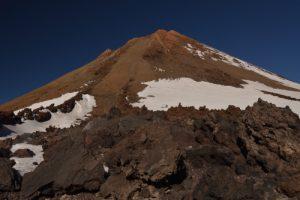 Cratère du volcan Teide (3718m) vu du téléphérique<br> Parc national du Teide<br> Île de Tenerife (Islas Canarias)