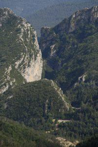 Clue de Saint-Auban<br> Parc Naturel Régional des Préalpes d'Azur