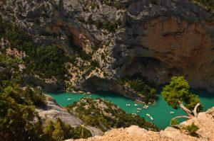 Le Lac de Sainte-Croix<br> Les Gorges du Verdon<br> Parc Naturel Régional du Verdon