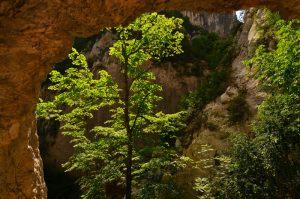 Tunnel du Baou<br> Les Gorges du Verdon<br> Parc Naturel Régional du Verdon