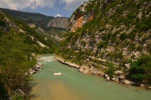 Les Gorges du Verdon<br> Parc Naturel Régional du Verdon