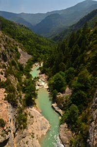 La Clue d'Aiglun<br> Parc Naturel Régional des Préalpes d'Azur