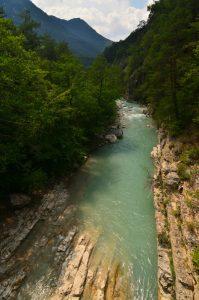 La Rivière de l'Esteron<br> Parc Naturel Régional des Préalpes d'Azur