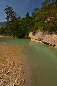 Le ruisseau du Jabron, affluent du Verdon<br> Les Gorges du Verdon<br> Parc Naturel Régional du Verdon
