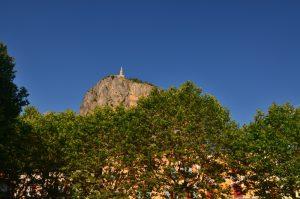 Le village de Castellane<br> Parc Naturel Régional du Verdon