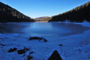 Le Lac des Corbeaux<br> Parc Naturel Régional des Ballons des Vosges.