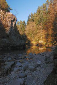 Les Gorges de Crosery<br> Parc naturel régional des Ballons des Vosges