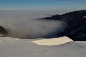 Le Col de Falimont<br> Le Hohneck (1363m)<br> Parc naturel régional des Ballons des Vosges