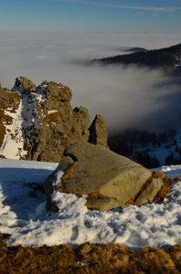 Rochers de la Martinswand<br> Le Hohneck (1363m)<br> Parc naturel régional des Ballons des Vosges