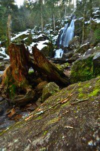 La Grande Cascade de Tendon<br> Parc naturel régional des Ballons des Vosges