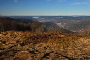 Le ballon d'Alsace, un des sommets du massif des Vosges, culmine à 1247m<br> Parc Naturel Régional des Ballons des Vosges