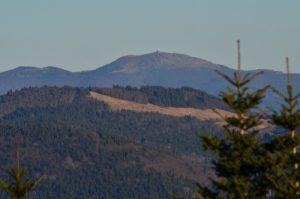 Le ballon de Servance, un des sommets du massif des Vosges, culmine à 1216m.<br> Parc Naturel Régional des Ballons des Vosges