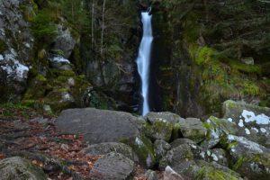 La Cascade de Rudlin<br> Parc Naturel Régional des Ballons des Vosges