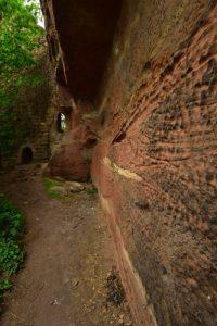 Ruines du vieux château de Windstein<br> Parc Naturel Régional des Vosges du Nord