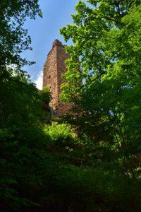 Château de Waldeck<br> Parc Naturel Régional des Vosges du Nord