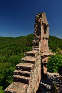 Château de Flekenstein<br> Circuit des 4 châteaux<br> Parc Naturel Régional des Vosges du Nord