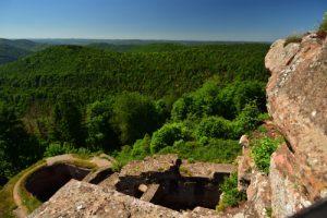 Château de Hohenbourg<br> Circuit des 4 châteaux<br> Parc Naturel Régional des Vosges du Nord