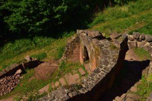 Château de Wegelnburg<br> Circuit des 4 châteaux<br> Parc Naturel Régional des Vosges du Nord