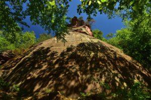 Le Rocher du Schlossberg<br> Parc Naturel Régional des Vosges du Nord