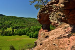 L'Arche naturelle du Wachtfels<br> Parc Naturel Régional des Vosges du Nord