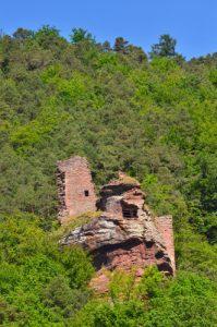 Château de l'Arnsbourg<br> Parc Naturel Régional des Vosges du Nord