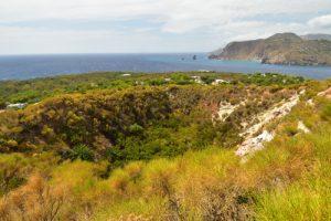 Le volcan Vulcanello<br> Île de Vulcano<br> Île éoliennes
