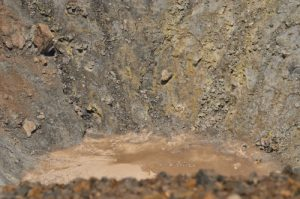 Le volcan Gran Cratere de La Fossa<br> Île de Vulcano<br> Île éoliennes