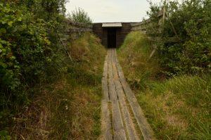 Poste d'Observation des oiseaux <br> La Réserve Naturelle des Marais de Séné<br> Parc Naturel Régional du Golf du Morbihan