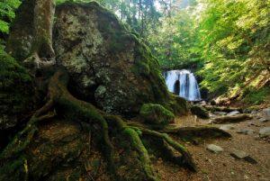 Cascade de la Vernière<br> Parc des Volcans d'Auvergne