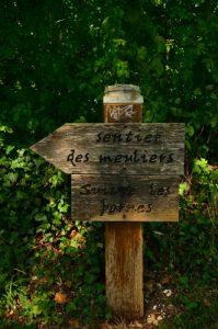 Panneau de l'ENS du Bois de la Barre<br> Espace Naturel Sensible du Bois de la Barre