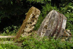 Exploitation de la pierre meulière<br> Espace Naturel Sensible du Bois de la Barre